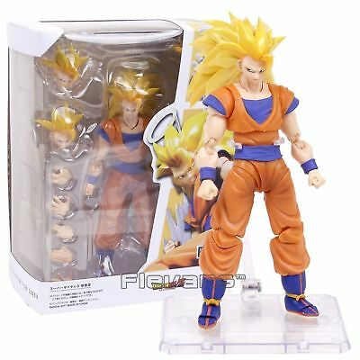 S.H.Figuarts Dragon Ball Z Super Saiyan 3 Son Goku 2.0 Gokou DBZ PVC Figure New