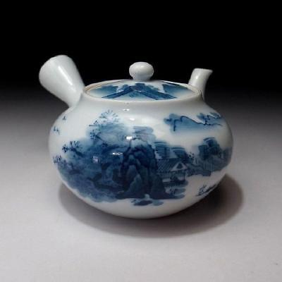YH4: Vintage Japanese Hand-painted Tea Pot for Sencha, Imari ware, Arita ware