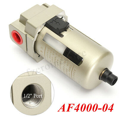 AF4000-04 1/2'' Air Inline Drain Filter Compressor Water Moisture Trap