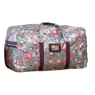 Bambino Overnight Travel Bag Silver/Purple NEW
