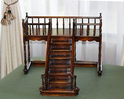 Theodore Alexander Display Staircase Stick & Ball Rails Spindle Posts Unique