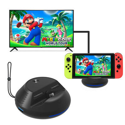 Portable Charge TV Dock for Nintendo Switch Replacement Dock with Chip