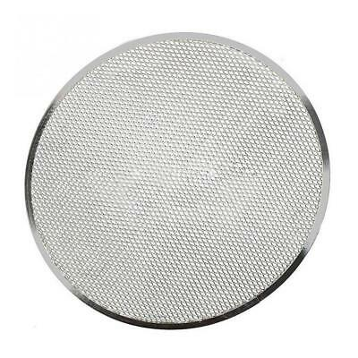 Aluminum Mesh Grill Pizza Screen Round Baking Tray Net Kitchen ToolSELL