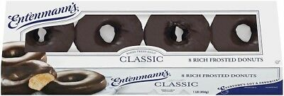 FRESH Entenmann's Donuts 8 Count Chocolate Pack