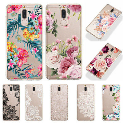 For Huawei Mate 20 Pro P20 P9 Lite Nova 3i Silicone Clear Painted TPU Case Cover