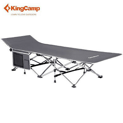 KingCamp Camping Folding Bed Cot Portable Lightweight Stable Outdoor Sleepover