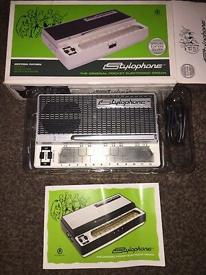 STYLOPHONE The original pocket electronic organ. Hardly used in box.