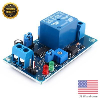 12V DC Relay Delay Turn off Switch Module with Timer Electrician Chip Module