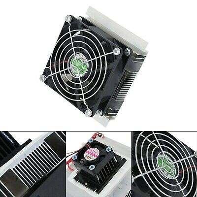 12V 6A Thermoelectric Peltier Refrigeration Cooling System Kit Cooler Accessary