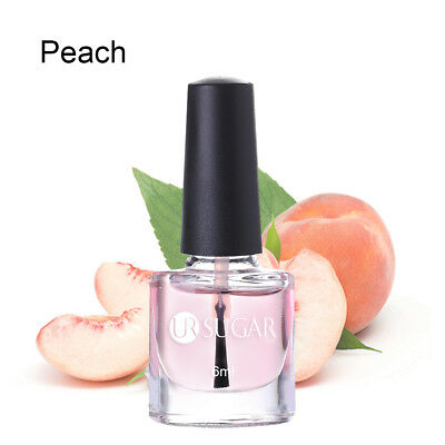 6ml UR SUGAR Nail Cuticle Oil Peach Flavor Nail Art Nutrition Care Manicure DIY