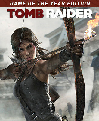 Tomb Raider Game of the Year Edition Steam Key PC Digital Download