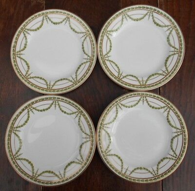 George Jones Crescent China Side Plates Swags Of Flowers Pattern Number 16385