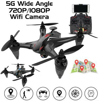 GW198 Wide Angle 5G Wifi 720P 1080P HD Camera RC Drone Quadcopter With GPS