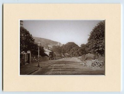A Mounted Print Of Old London Road Hastings East Sussex c1875 Ready to Frame