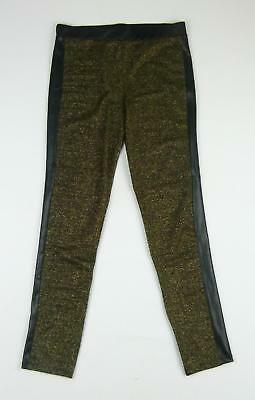George Girls Green Leggings Age 13-14
