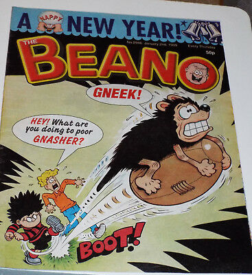 BEANO Original Comics January 2nd 1999 to March 13th 1999: individual issues