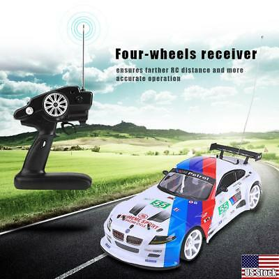 1:10 Scale RC Car Remote Control Electric Sport Racing Vehicle Kids Toys Gift