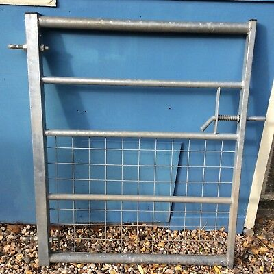 5 Bar Galvanised Metal Field Farm Equestrian Entrance Security Gate 3ft