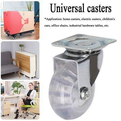 360° Rotatable Swivel Casters Wheels Castor Roller Trolley Furniture Chair Table