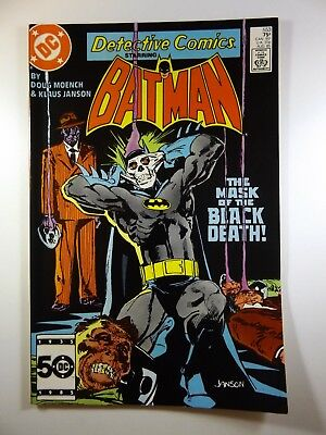 """Detective Comics #553 """"The Mask of Black Death!"""" VF-NM Condition!!"""