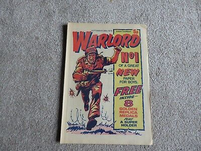 Warlord Comics Issues 1 to 10 inclusive Sept to Nov 1974