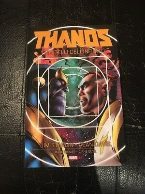 Thanos I Fratelli Dell'infinito - Volume Cartonato Panini Comics