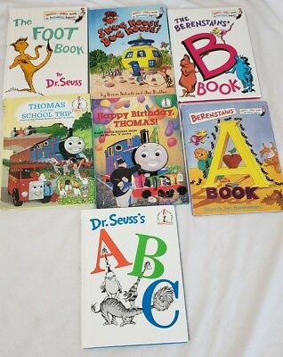Lot 7 - Beginner Books/I Can Read it All By Myself   Dr Seuss - Cat in the HAT