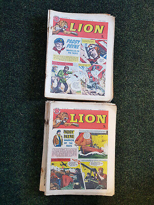 LION COMIC - FULL YEAR!! 52 issues from 1962