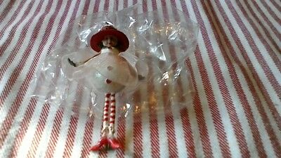 Krinkles Patience Brewster Red Hat Snowlady Ornament Dept 56