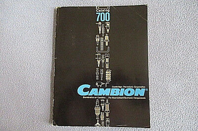 1963 Cambion Thermionic Corp. Electronics Catalog #700 ~ Terminal Boards ~ Coils