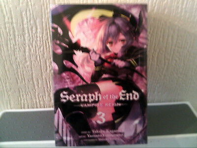 Seraph Of The End Vampire Reign Vol 1 - 3  Manga Books Official