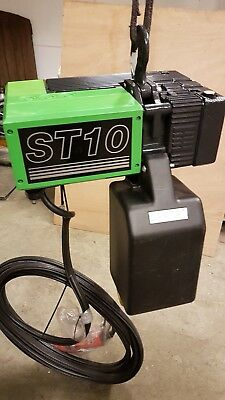 Stahl  Electric Chain Hoist Height Of Lift 10 Metres Stainlees Steel Load Chain