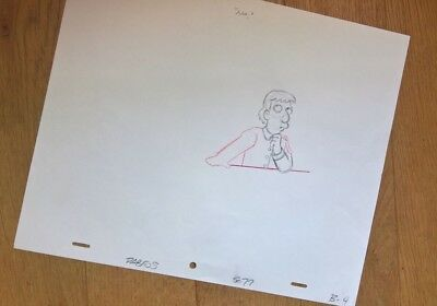 Original production drawing from The Simpsons TV series