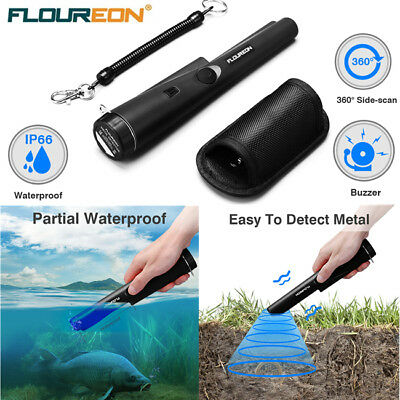 GP Automatic HandHeld Pointer Metal Detector Pinpointer Waterproof With Holster