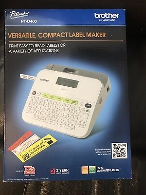 Brother PTD400 Label Maker - Brand New - Free Shipping