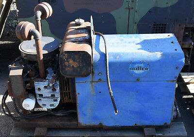 Miller Aead-200Le Gas Engine Powered Constant Current Ac Dc Welder Generator