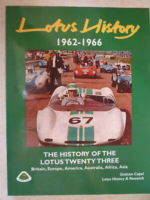 Lotus History 1962-1966, History Of The Lotus 23