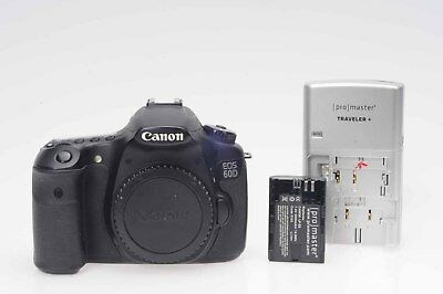 Canon EOS 60D 18MP Digital SLR Camera Body                                  #171