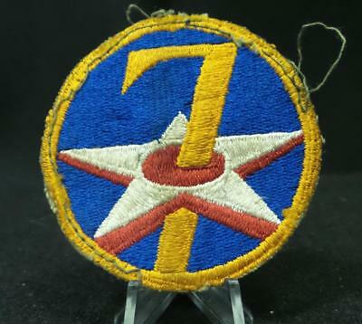 WW2 WWII 7th Air Force Shoulder Insignia Patch