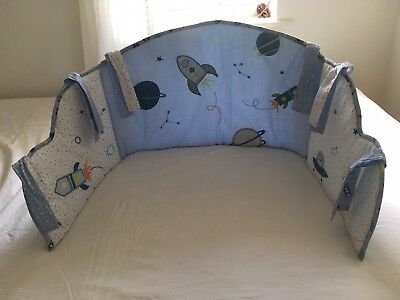 Mothercare Space Dreamer Cot Bumper. Lovely Design!