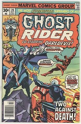 Marvel Ghost Rider #20! Near Mint- (9.2) Condition!