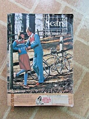 Vintage 1976 Sears Fall & Winter Department Store Catalog Midwest Edition #253H
