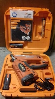 Paslode Im350+ Nail Gun In Case With 2 Batteries And Charger