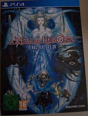 Final Fantasy XIV Online A Realm Reborn PS4 Limited Collector's Edition