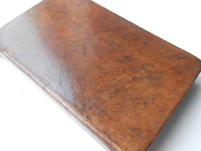 Antique Leather Georgian Book Wood's Dictionary Of The Bible 1832 Map & Illustra