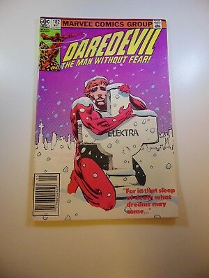Daredevil #182 VF- condition Free shipping on orders over $100.00!