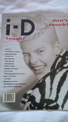 Id Magazine February 1987 Tease Issue Ex Condition