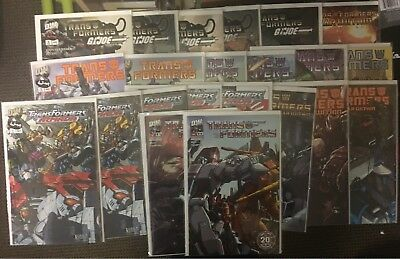 Lot of 22 Transformers Comic Books (DW Comics)