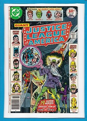 Justice League Of America #147_October 1977_Very Fine Minus_Bronze Dc Giant!