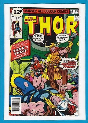 "MIGHTY THOR #276_OCTOBER 1978_VERY FINE/NEAR MINT_""THOR Vs THOR""_BRONZE AGE UK!"